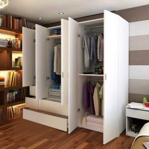 Tủ quần áo, Tủ gỗ công nghiệp TUA-5102