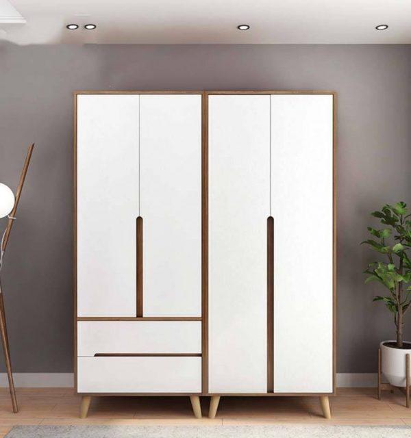 Tủ quần áo cá nhân hiện đại thanh lịch TUA-5445
