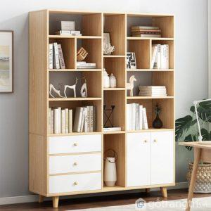 Giá sách gia đình bằng gỗ công nghiệp GS-2248