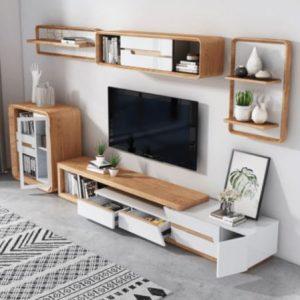 Kệ tivi phòng khách đẹp thiết kế thanh lịch KTV-3402