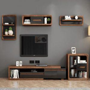 Kệ tivi bằng gỗ công nghiệp tiện dụng KTV-3405