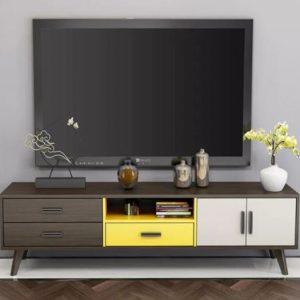 Kệ tivi bằng gỗ giá rẻ hiện đại KTV-3298
