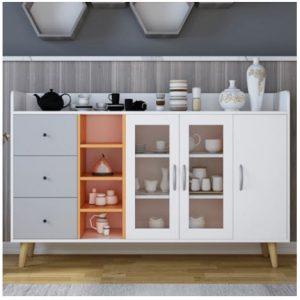 Tủ bếp gỗ phong cách hiện đại TB-5881