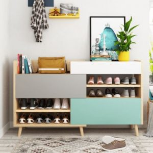 Tủ giày dép bằng gỗ công nghiệp TUG-5889