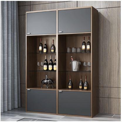 Tủ rượu gỗ công nghiệp thiết kế đẹp TUR-5529