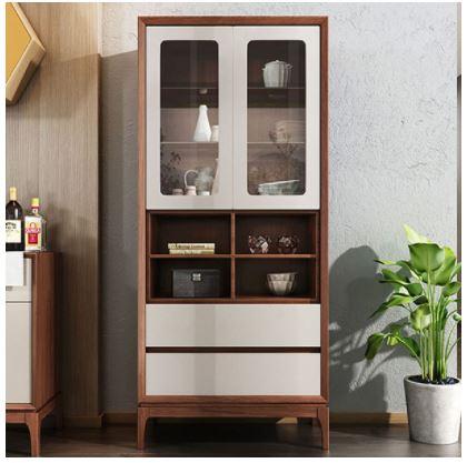 Tủ rượu gia đình đa năng gỗ tự nhiên TUR-5577