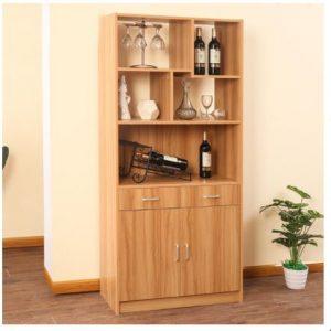 Tủ rượu gỗ công nghiệp thiết kế nhỏ gọn TUR-5583