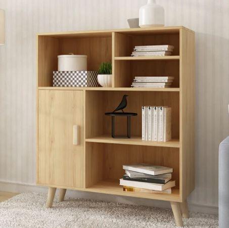 Giá sách gia đình thiết kế đẹp GS-2203