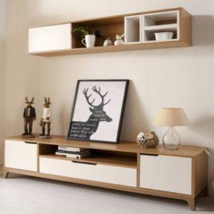 Kệ tivi giá rẻ bằng gỗ công nghiệp KTV-3247