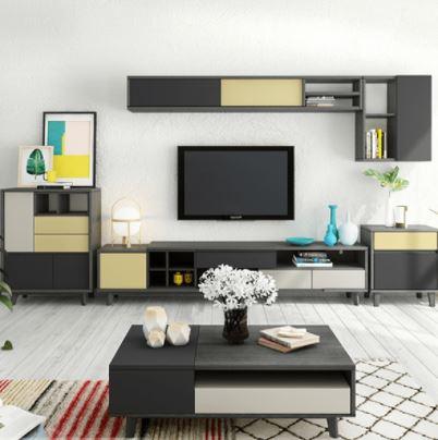 Kệ tivi phòng khách bằng gỗ công nghiệp KTV-3250