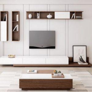 Kệ tivi gỗ phòng khách dáng thấp KTV-3257
