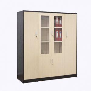 Tủ hồ sơ gỗ hiện đại tiện dụng THS-008