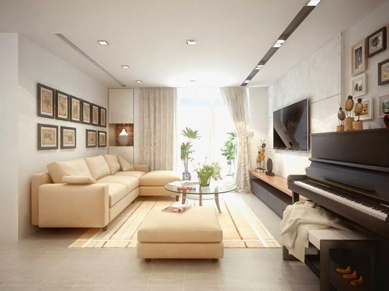 Căn hộ chung cư 5 cách bố trí nội thất chung cư