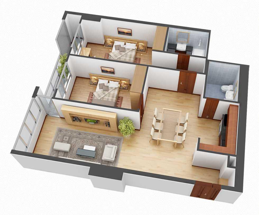 Căn hộ chung cư 15 cách để bỗ trí nội thất