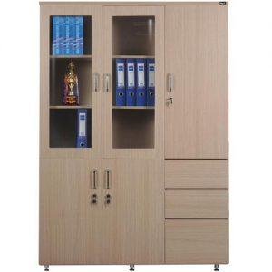 Tủ hồ sơ bằng gỗ MDF THS-005