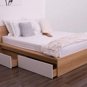 Giường ngủ hộc kéo tiện nghi GN-001