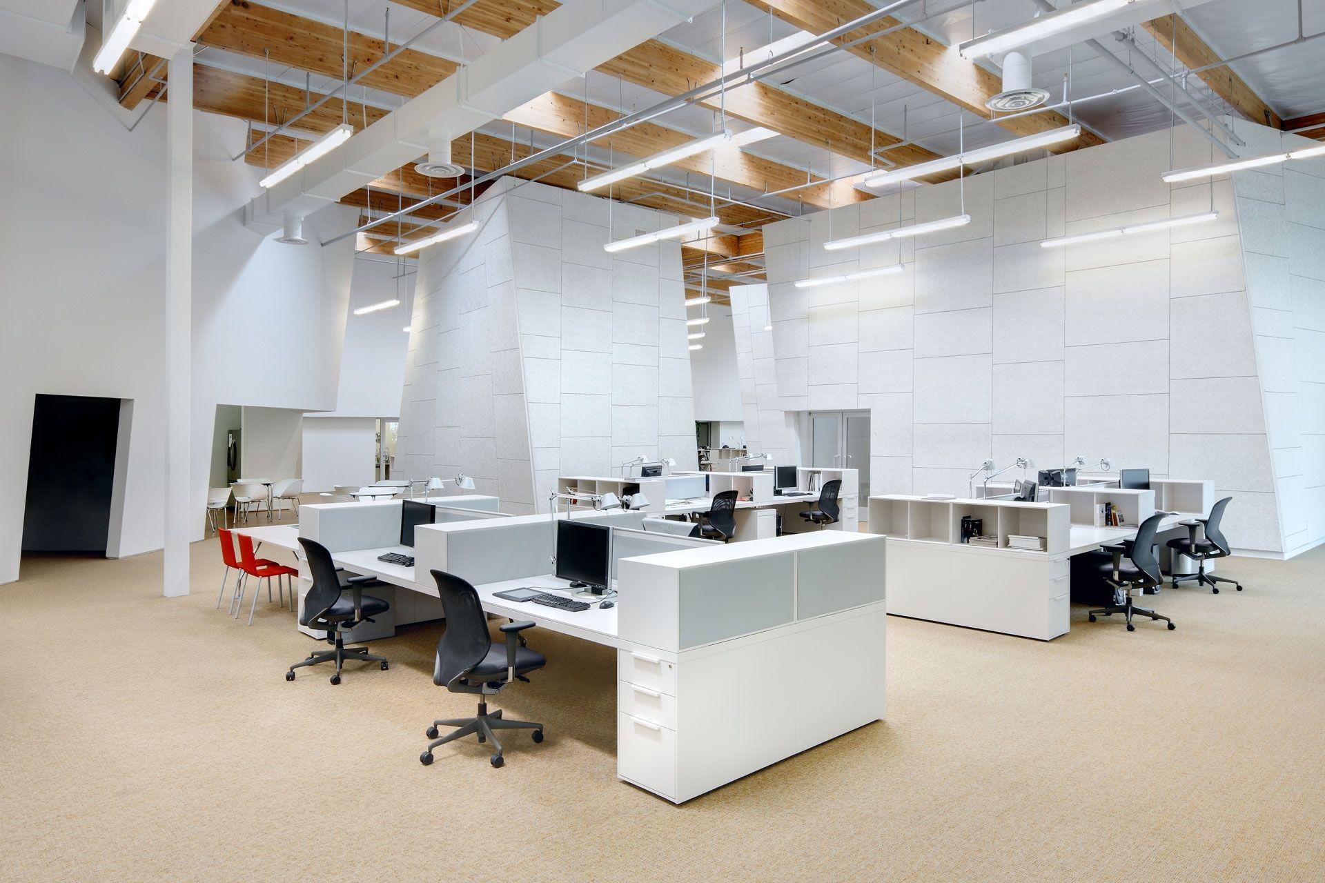 Nội thất văn phòng thiết kế phong cách hiện đại