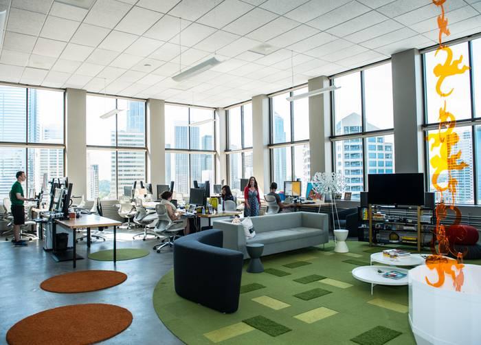 Nội Thất Văn Phòng làm việc đẹp và hiện đại