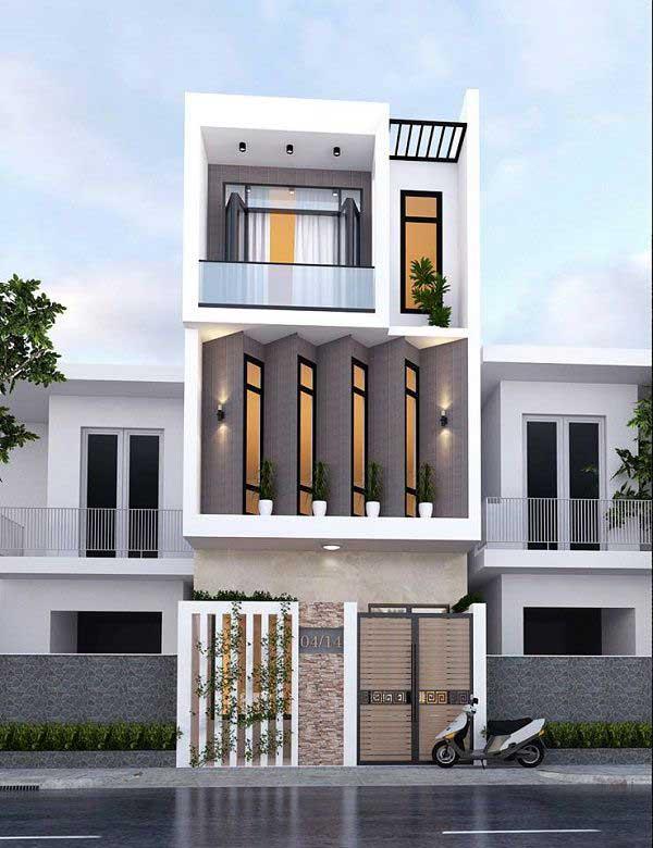 Nhà đẹp nhà phố 3 tầng 5m sang chảnh – hiện đại